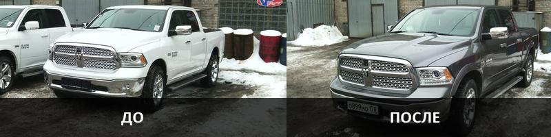 Восстановление лакокрасочного покрытия авто